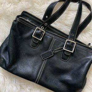 Coach purse really nice leather